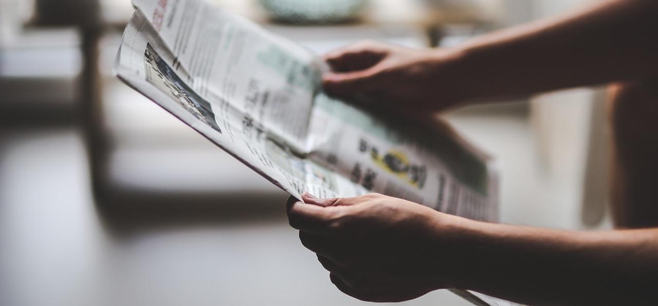 Maak je eigen krant unieke uitnodiging jubileumfeest - Happiedays