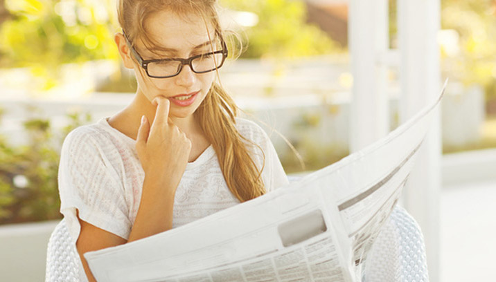 Make a personalized newspaper online - Happiedays