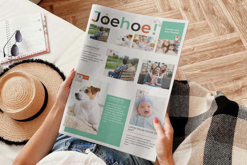 maak een krant met je smartphone - Happiedays
