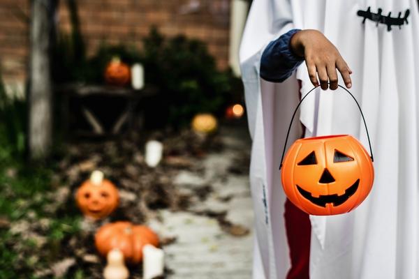 maak een krant voor halloween