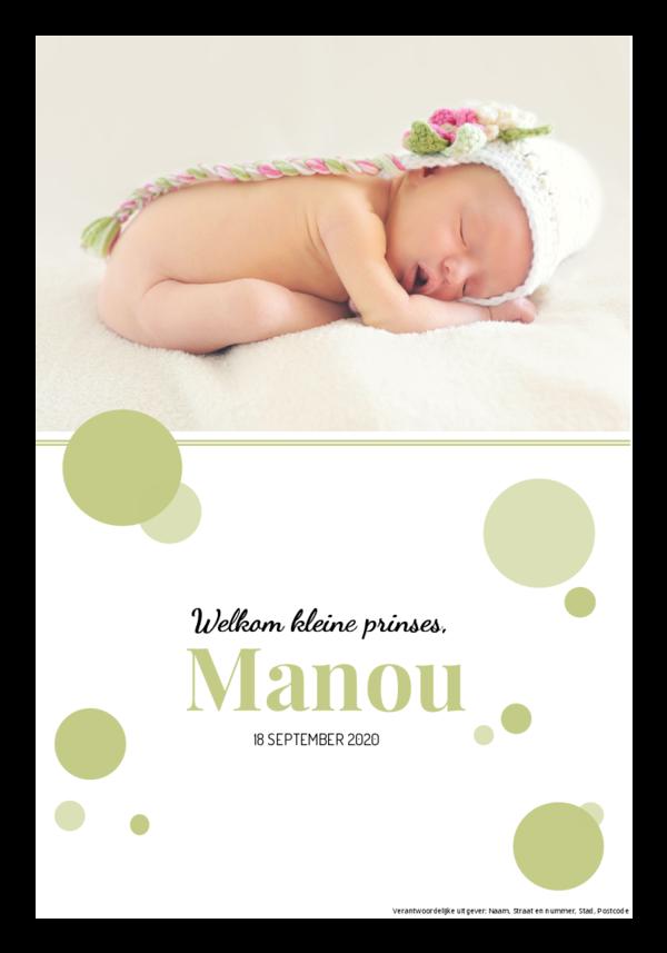 Maak je eigen krant sjabloon geboorte | Happiedays