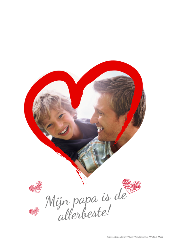 Maak je eigen krant sjabloon vaderdag | Happiedays