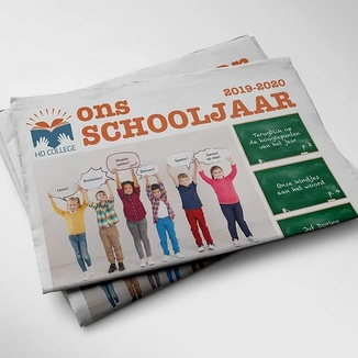 schoolkrant maken online - happiedays